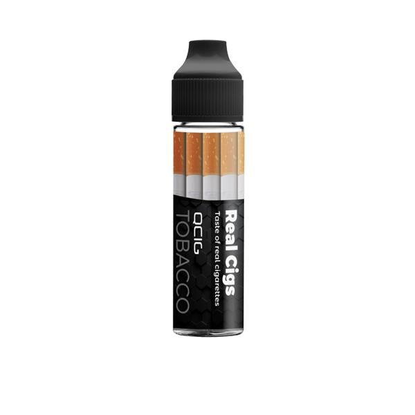 QCig Premium 50ml Shortfill 0mg (60VG/40PG) - Flavourclouds Discount Vape