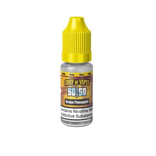 Chief of Vapes 3mg 10ML E-Liquids (50VG/50PG) - Flavourclouds Discount Vape