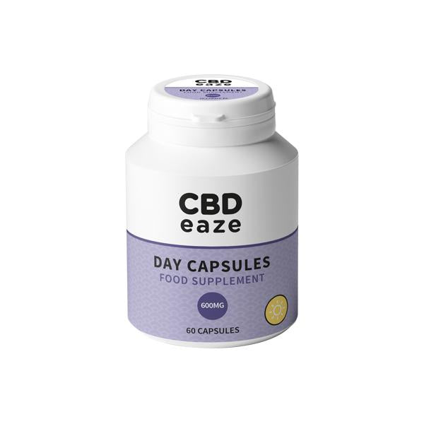 CBDeaze 600mg CBD Day Capsules - 60 Capsules - Flavourclouds Discount Vape