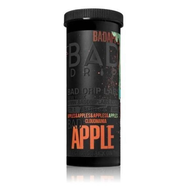 NEW Bad Apple by Bad Drip 0mg 50ml Shortfill (80VG-20PG) - Flavourclouds Discount Vape
