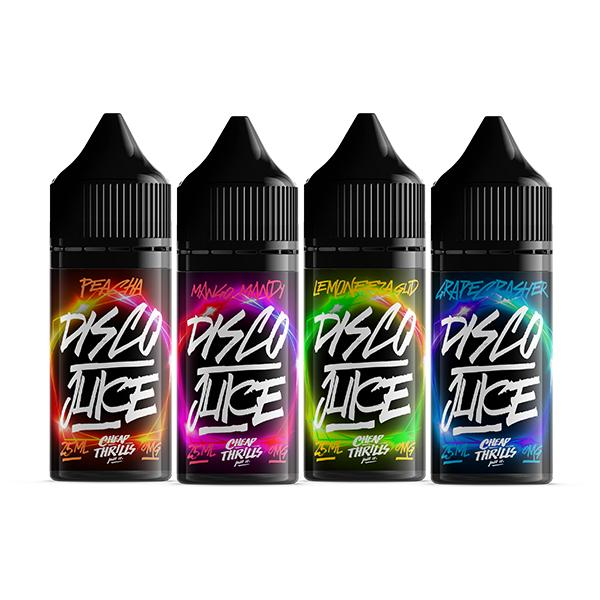 Disco Juice 0MG 25ML Shortfill (70VG/30PG) - Flavourclouds Discount Vape