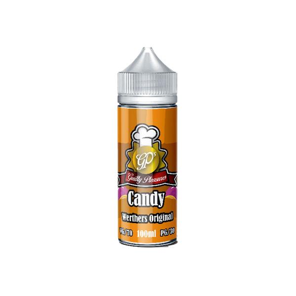 Guilty Pleasures Candy 0mg 100ml Shortfill (70VG/30PG) - Flavourclouds Discount Vape