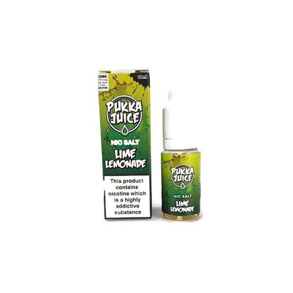 20MG Pukka Juice 10ML Flavoured Nic Salt (50VG/50PG) - Flavourclouds Discount Vape