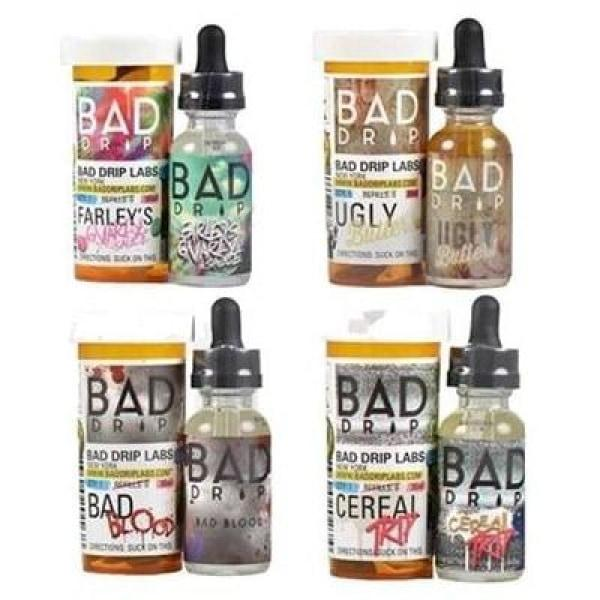 Bad Drip 50ml Shortfill 0mg (80VG/20PG) - Flavourclouds Discount Vape