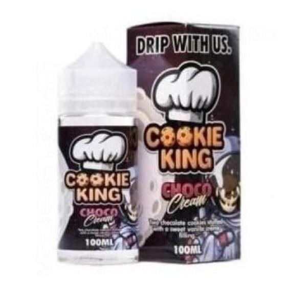 Cookie King 0mg 120ml Shortfill (70VG/30PG) - Flavourclouds Discount Vape