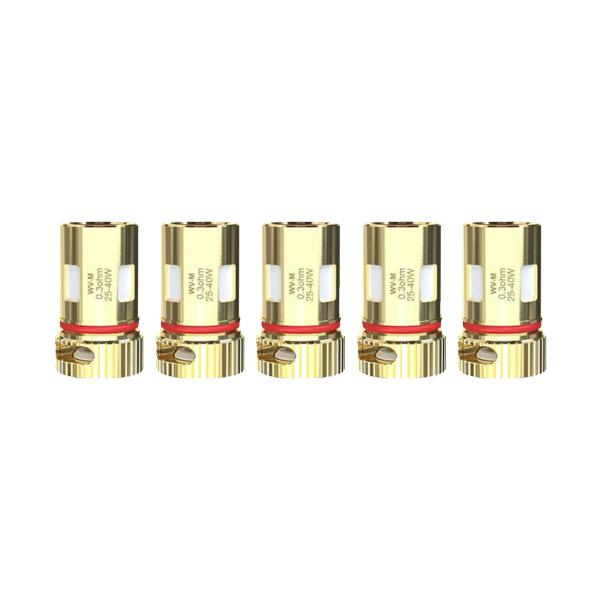 Wismec WV Replacement Coils 0.3ohm Mesh/ 0.8ohm WV01 - Flavourclouds Discount Vape