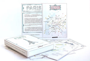 POSTCARD CITY GUIDE - PARÍS