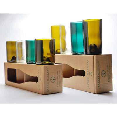 12oz & 16oz 4 packs of Glasses-Refresh Glass
