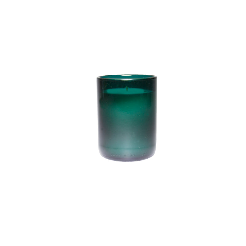 Single Teal Wild Flower Fragrance Soy Candle