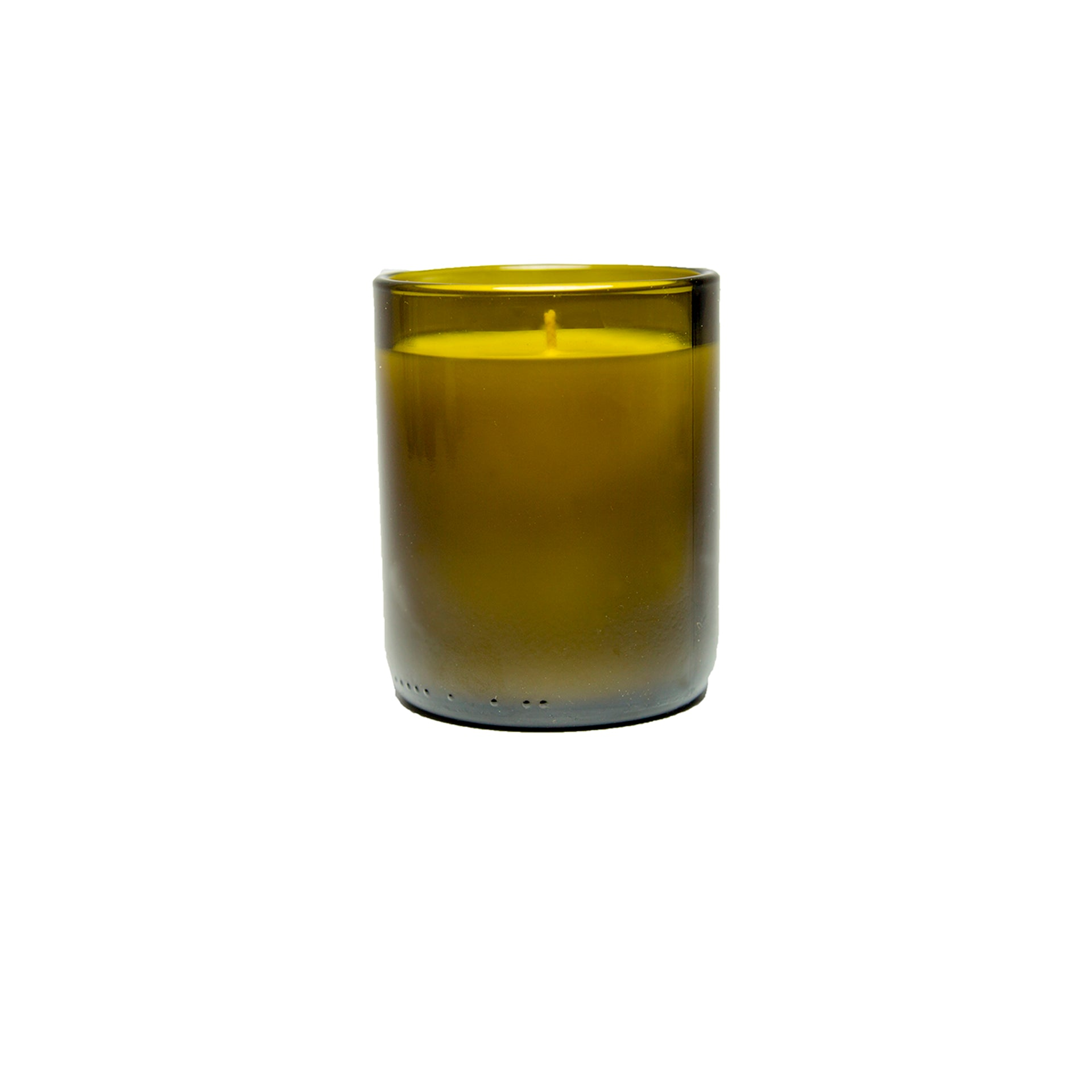 Single Amber Coffee Fragrance Soy Candle