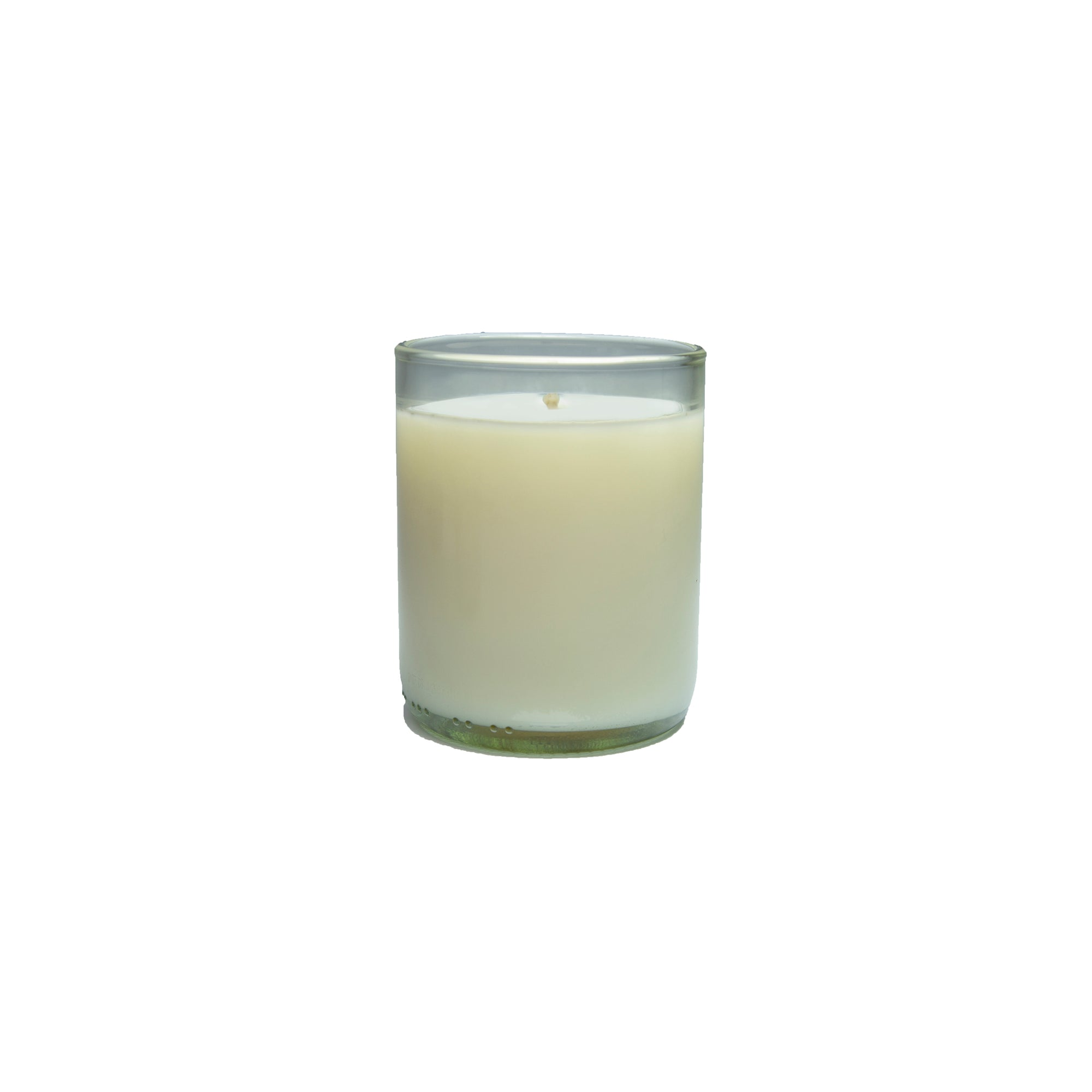 Single Clear Bourbon Fragrance Soy Candle