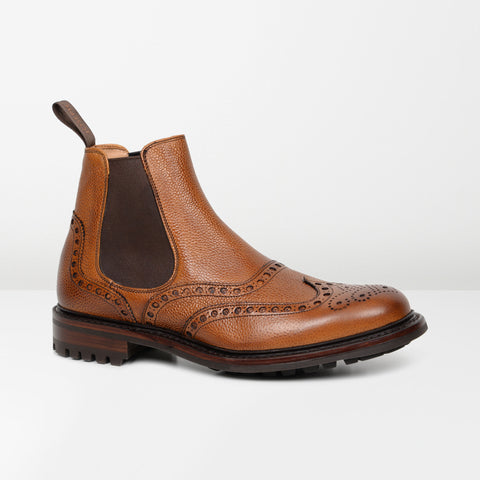CHEANEY Almond Grain Tamar C Chelsea Boots