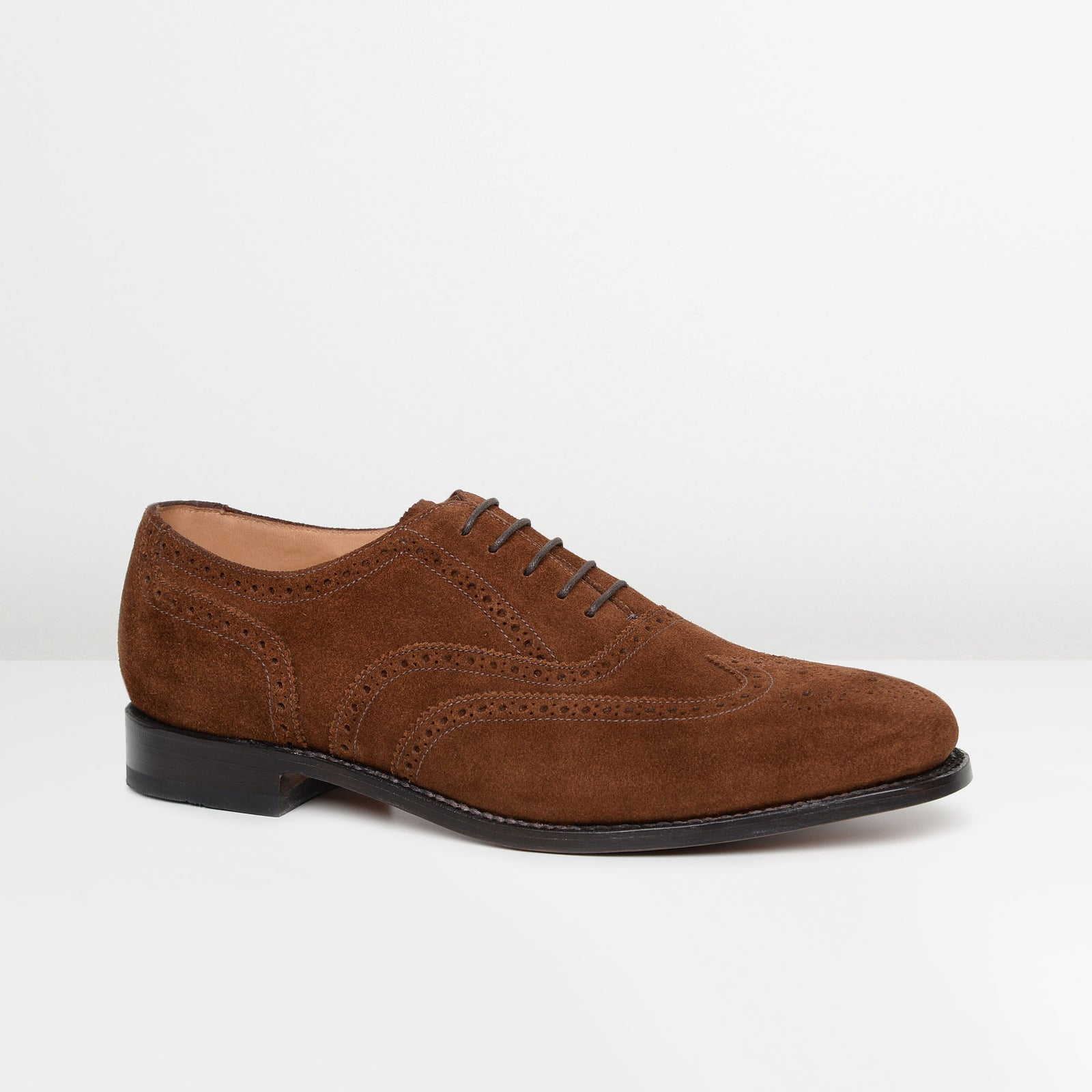 Brown Suede Luke 202 Oxford Brogues