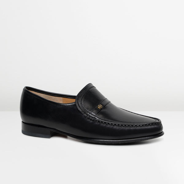 Black Jefferson Moccasins