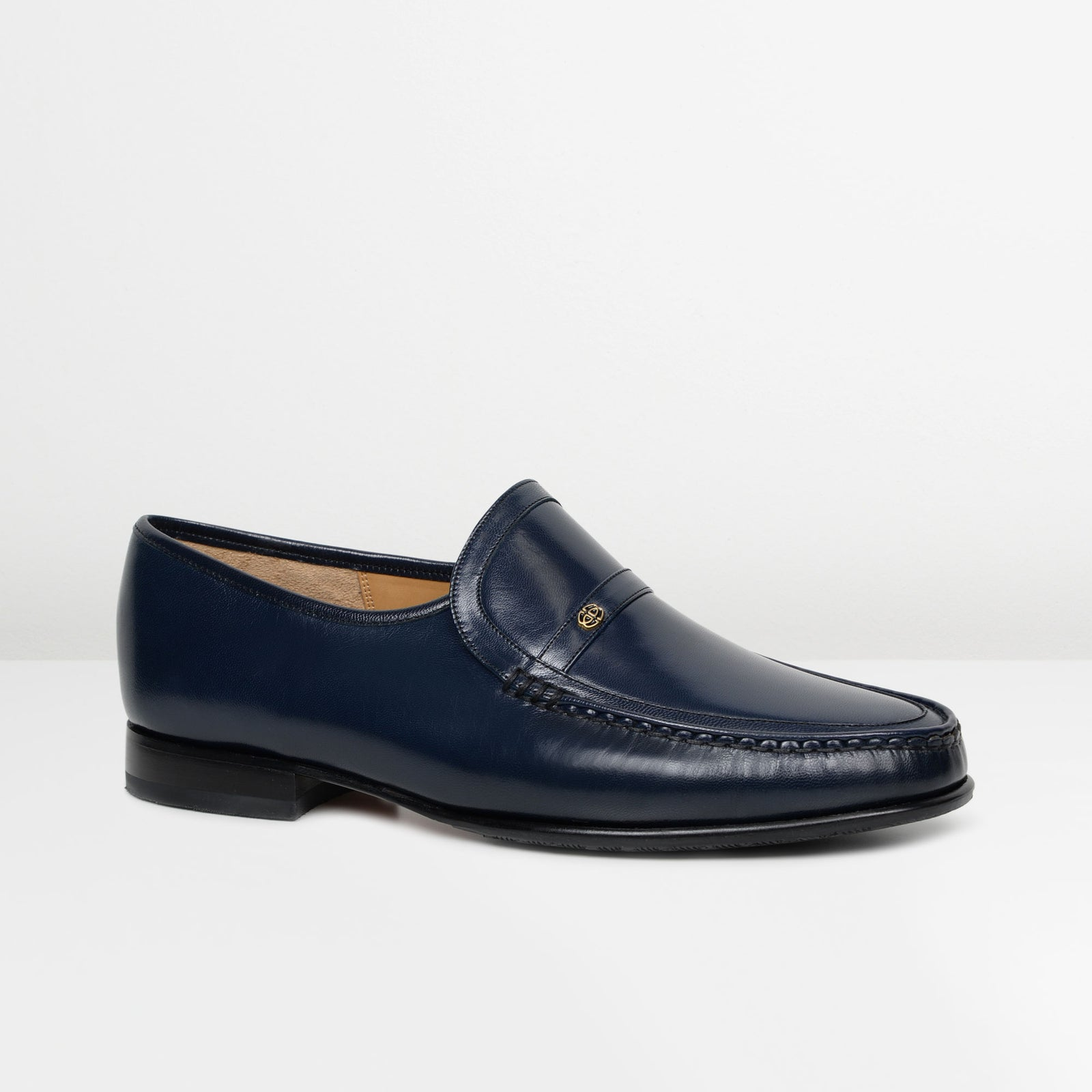 Navy Jefferson Moccasins