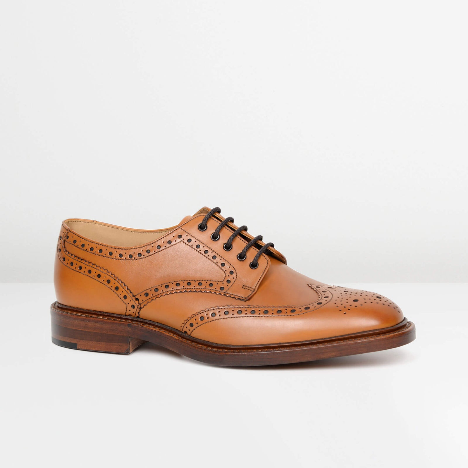 Tan Chester Derby Brogues