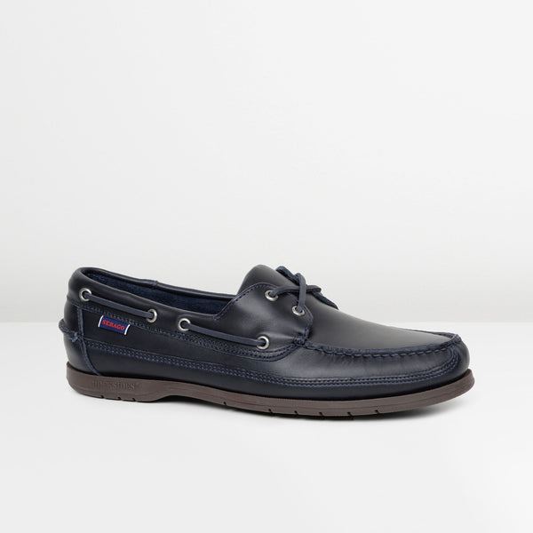 Blue Navy Gum Schooner Boat Shoes