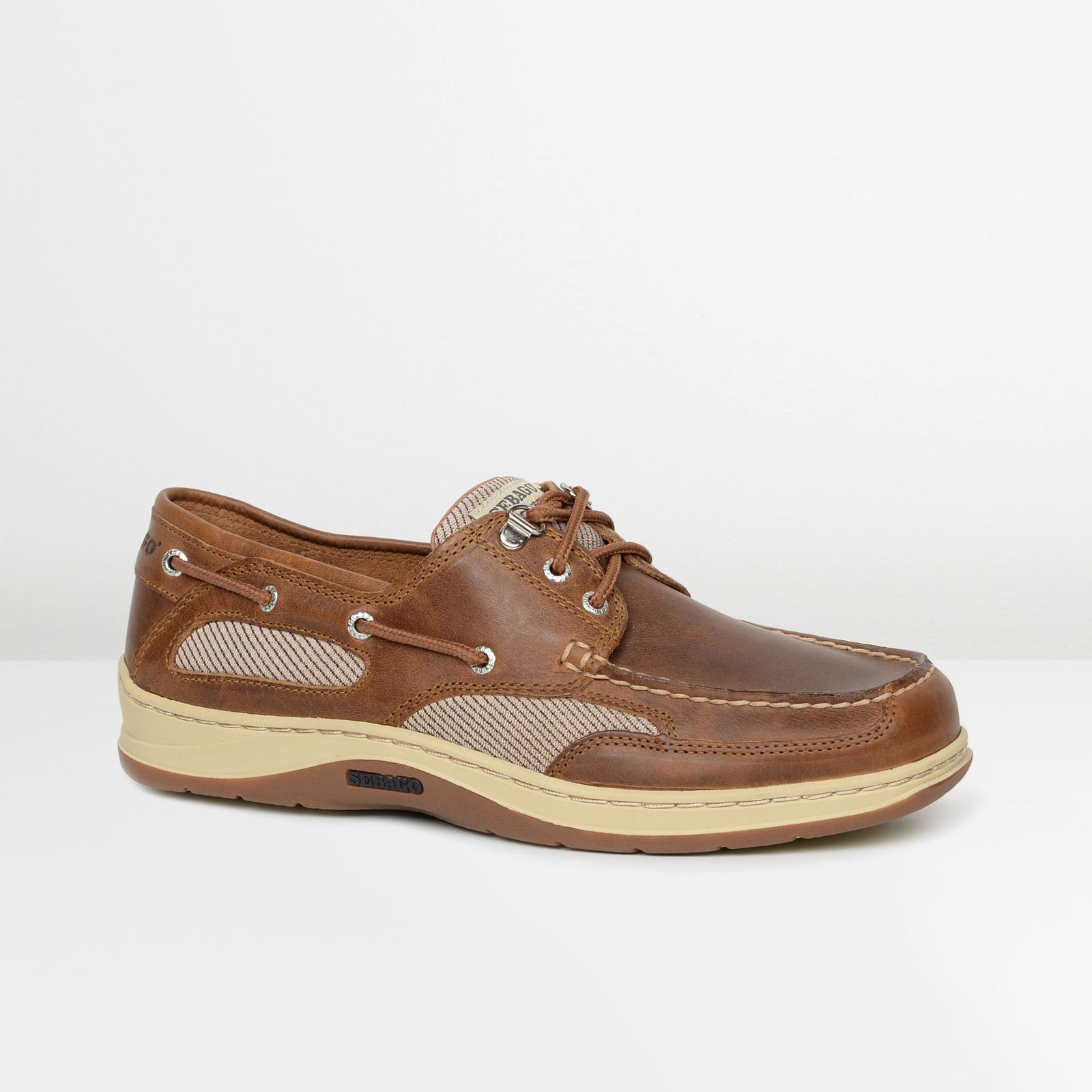 Brown Cinnamon Clovehitch Boat Shoes