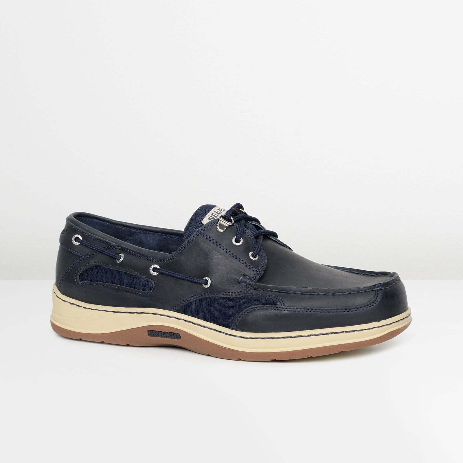 Blue Navy Clovehitch Boat Shoes