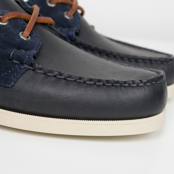 Blue Navy Portland Winch Boat Shoes