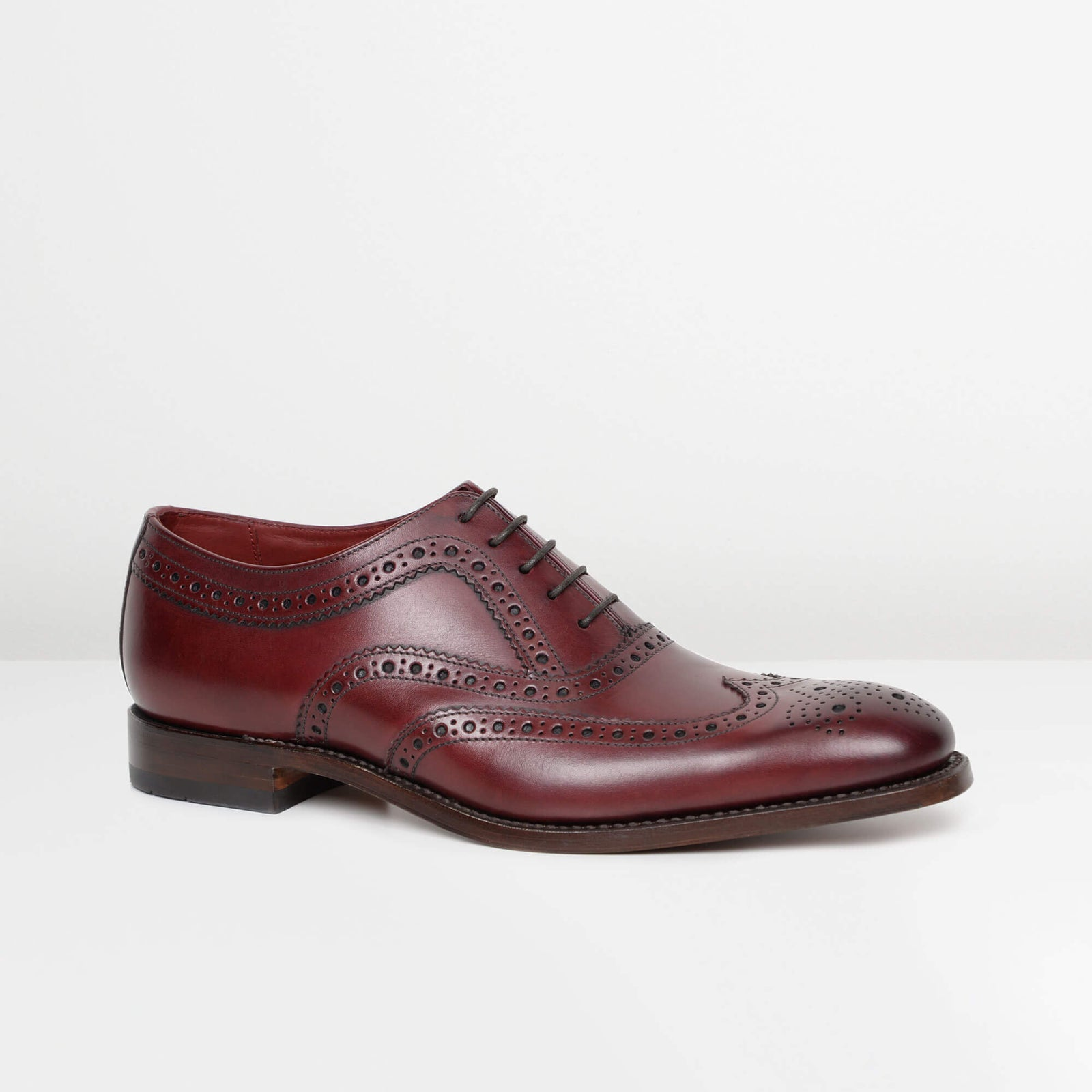 Burgundy Fearnley Oxford Brogues