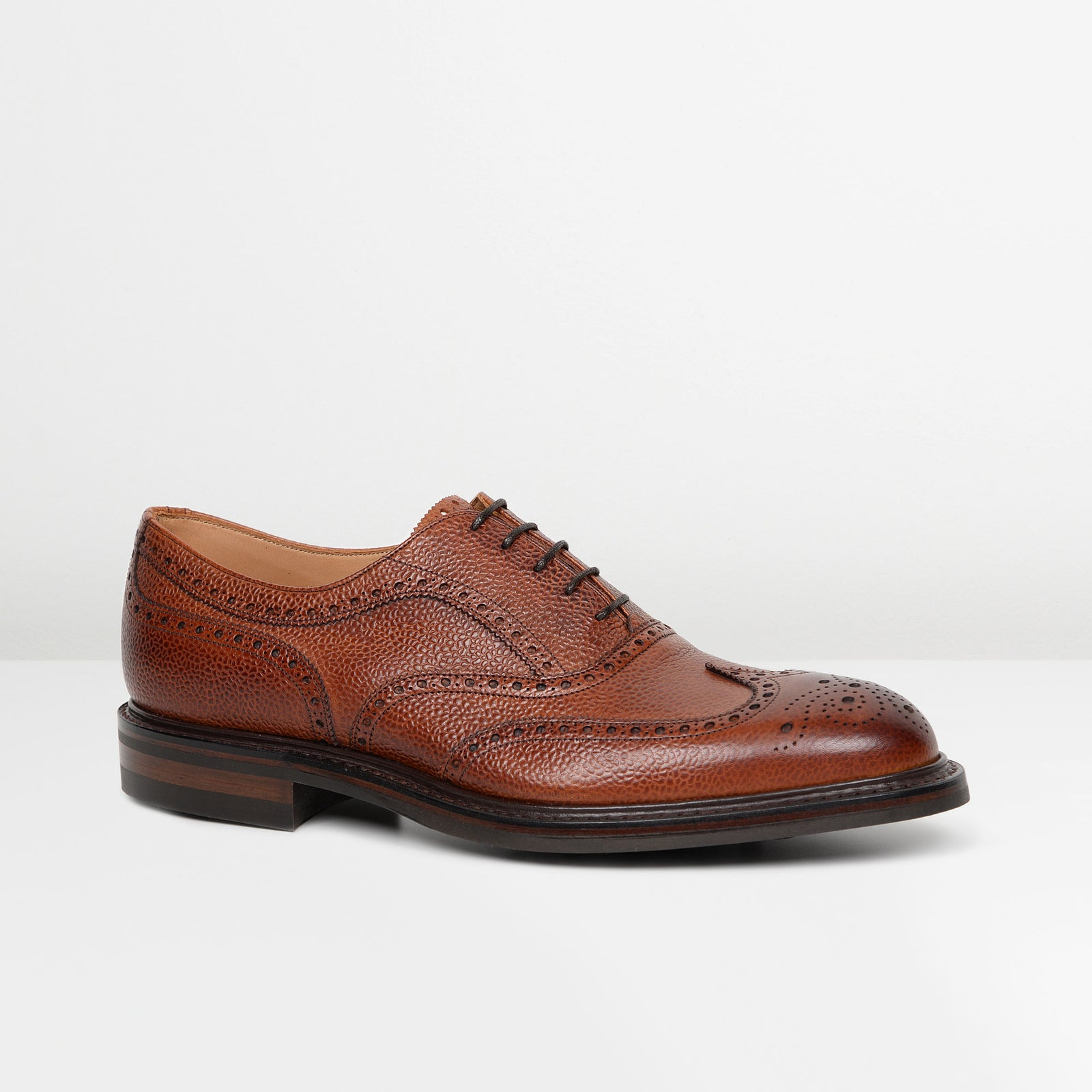 Grain Mahogany Hythe Oxford Brogues