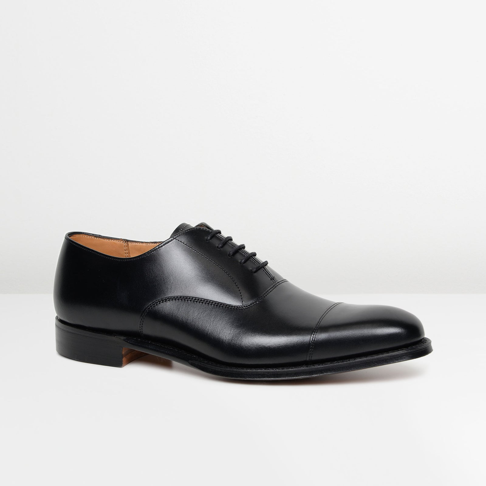 Black Lime Oxford Shoes