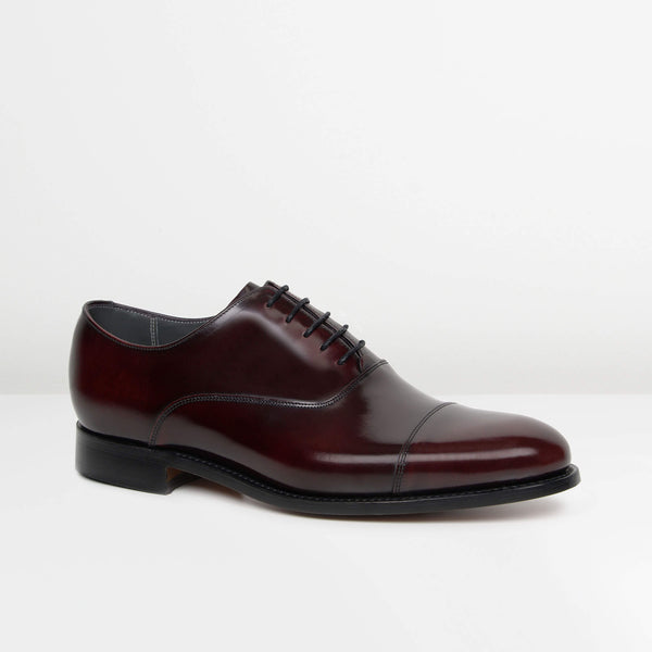 Burgundy Winsford Oxford Shoes