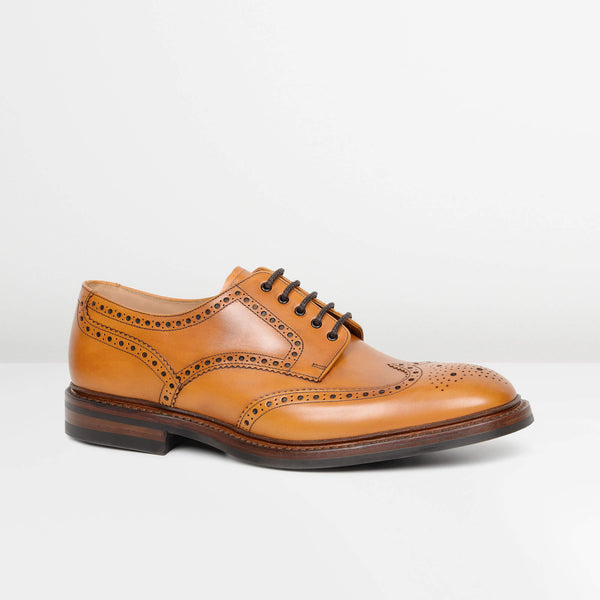 Tan Chester Dainite Derby Brogues