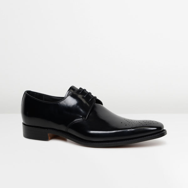 Black Darlington Derby Shoes