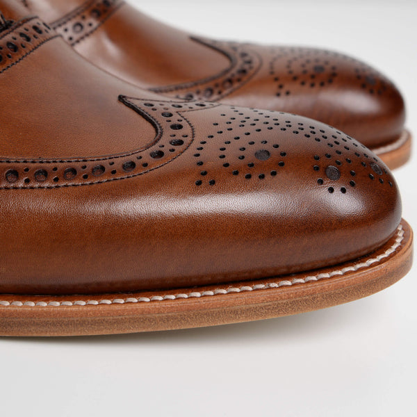 Brown Valiant Oxford Brogues