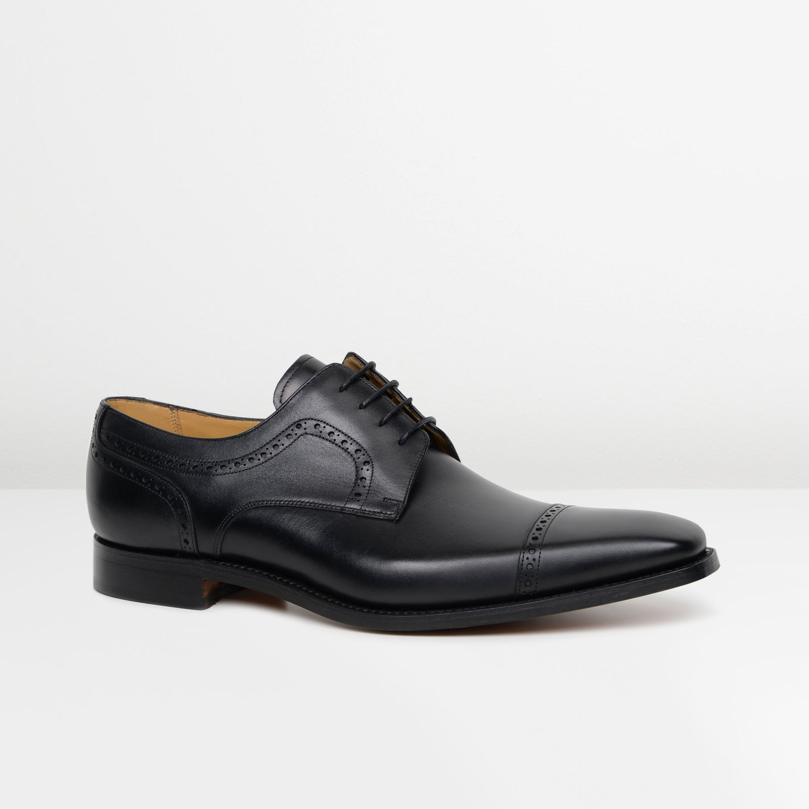 Black Leo Derby Brogues