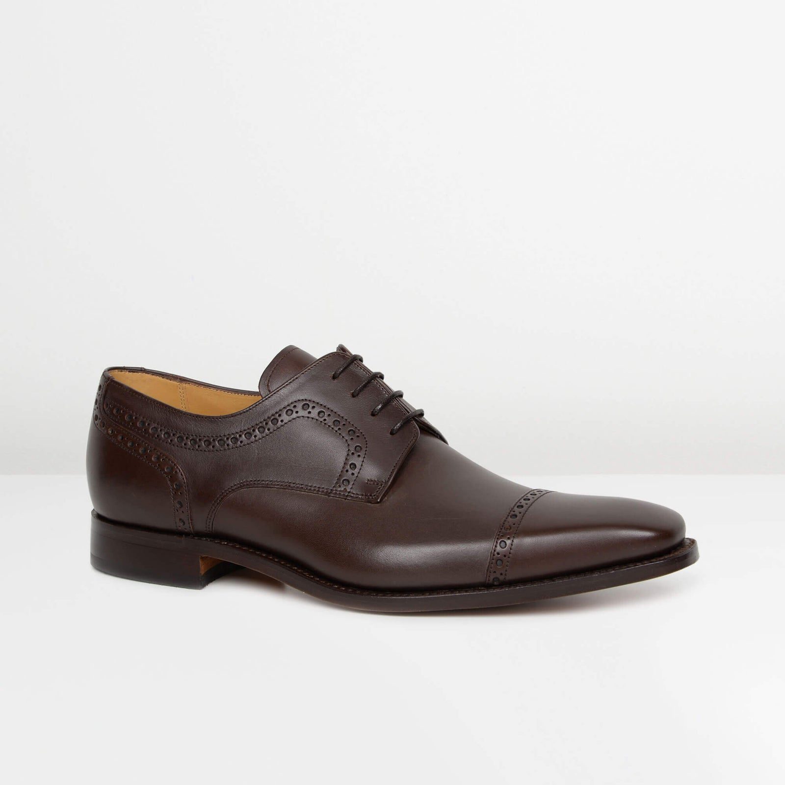 Dark Brown Leo Derby Brogues