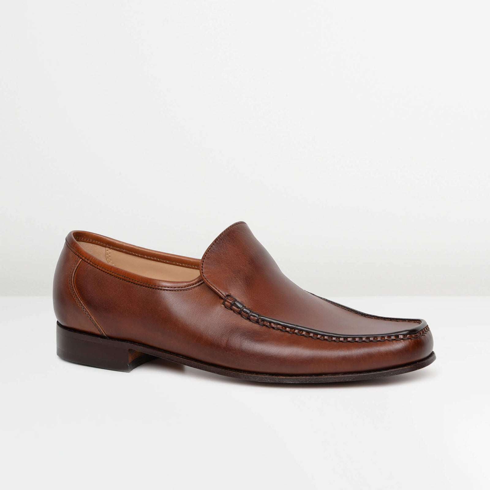 Brown Javron Moccasins