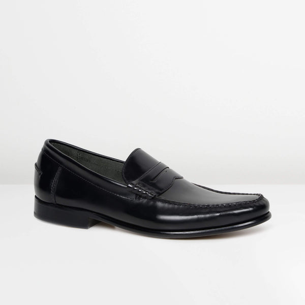 Black Newington Moccasins