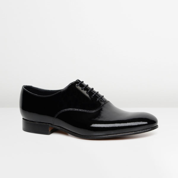 Black Madeley Oxford Shoes