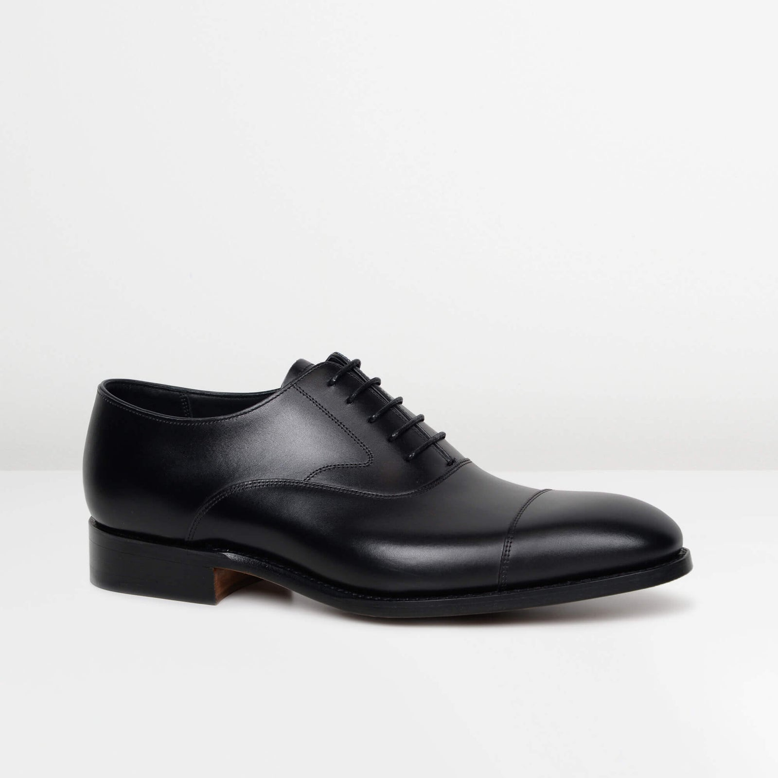 Black Falsgrave Oxford Shoes