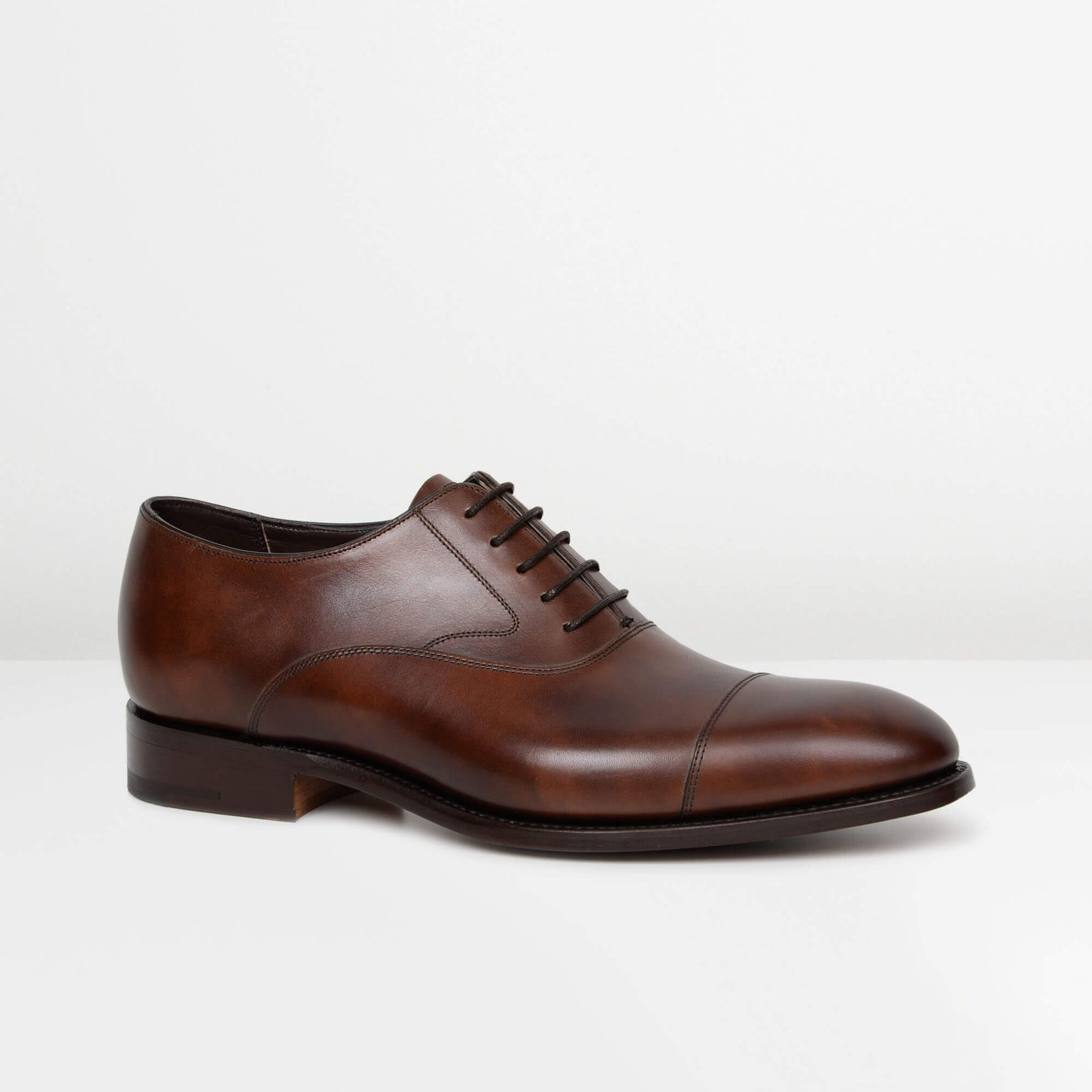 Dark Brown Falsgrave Oxford Shoes