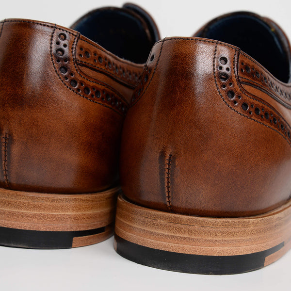 Brown Victor Derby Brogues