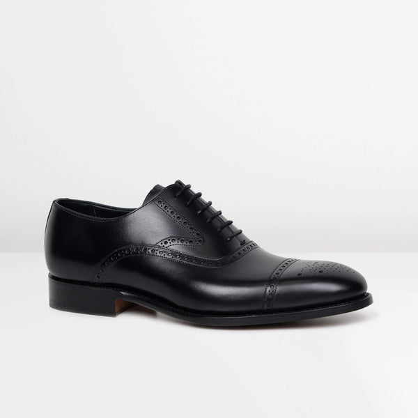 Black Lerwick Oxford Brogues