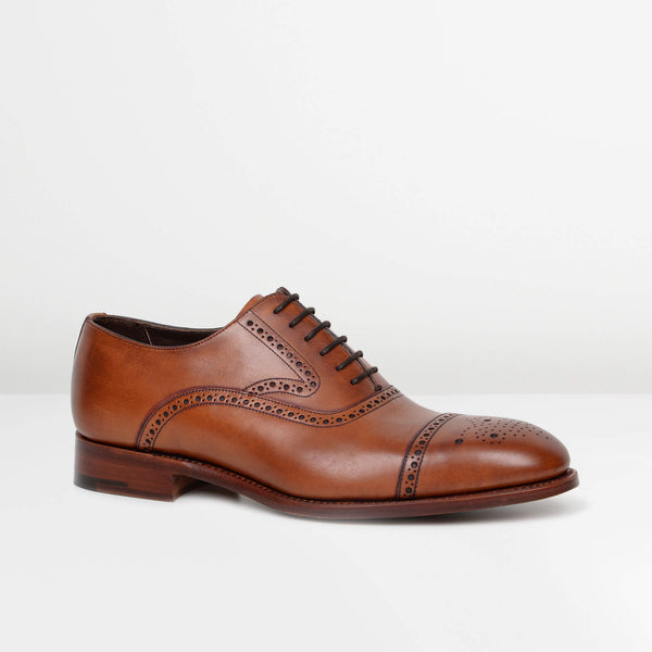 Antique Rosewood Lerwick Oxford Brogues