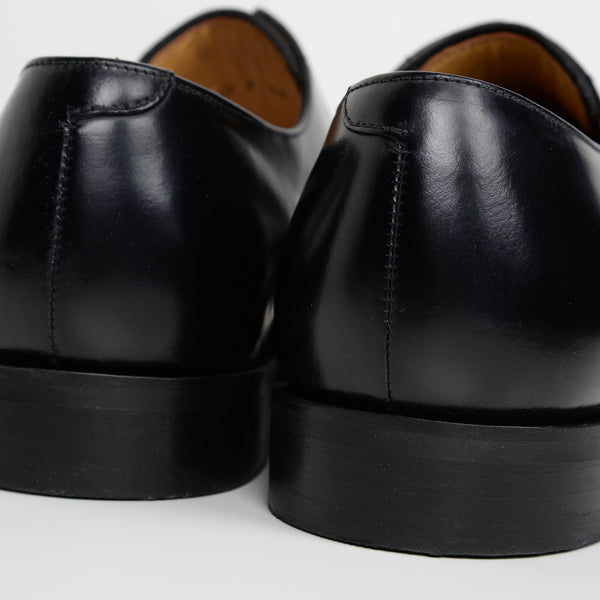 Black Lyle Derby Shoes