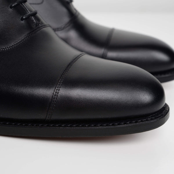 Black Malvern Oxford Shoes