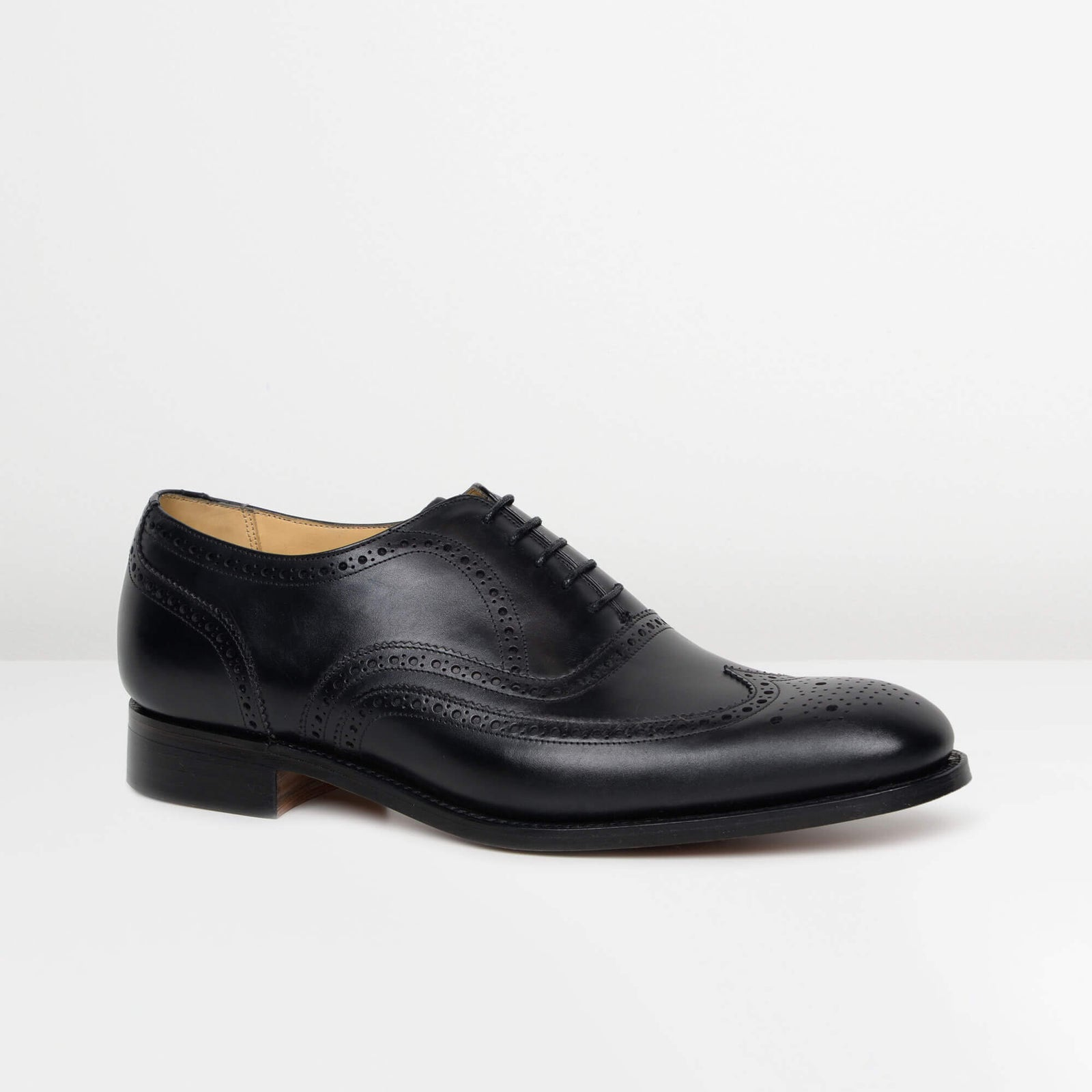 Black Malton Oxford Brogues