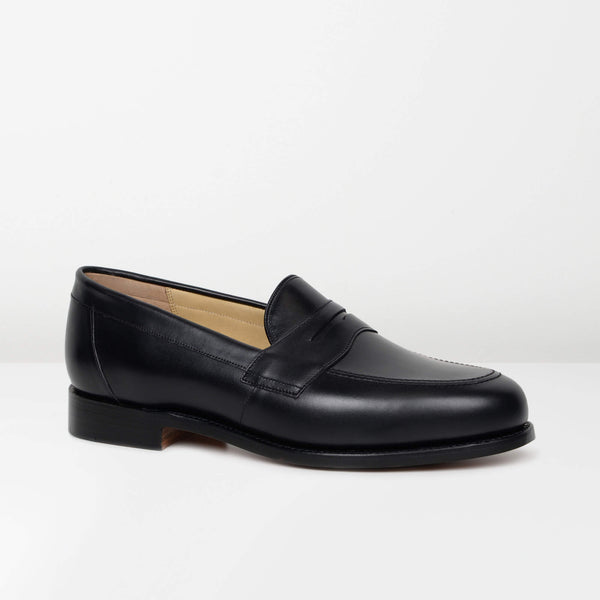Black Portsmouth Loafers