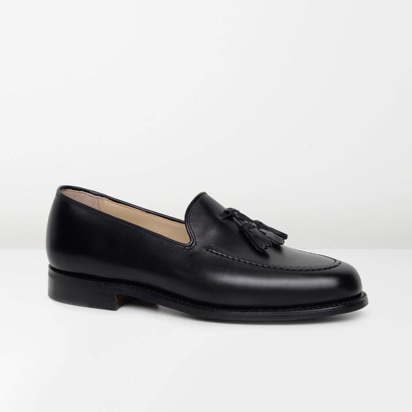 Black Studland Loafers