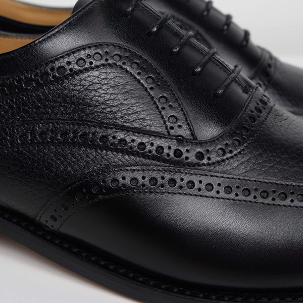 Black Southport Oxford Brogues