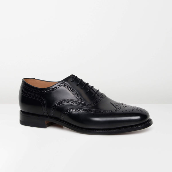 Black 202B Oxford Brogues