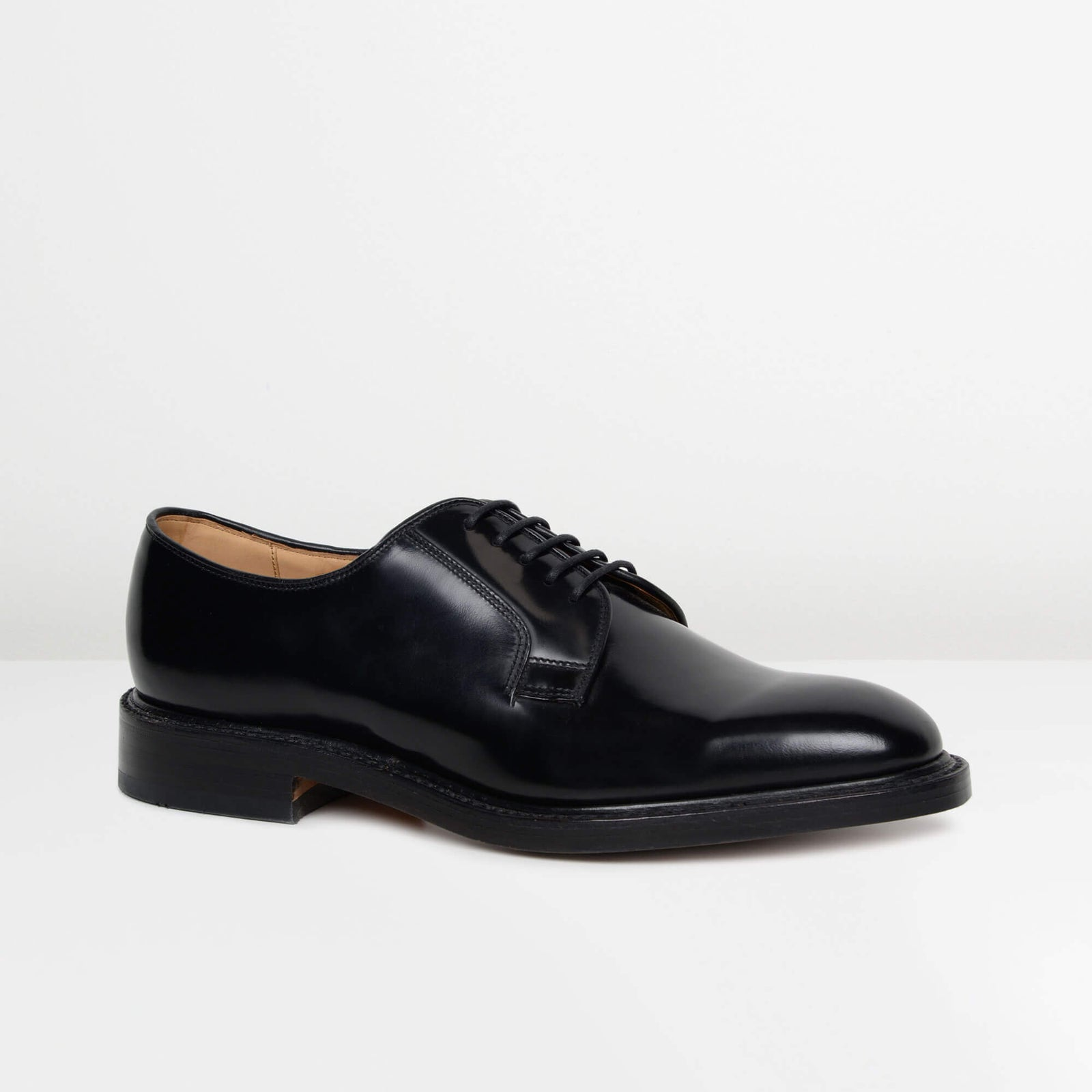 Black 771B Derby Shoes