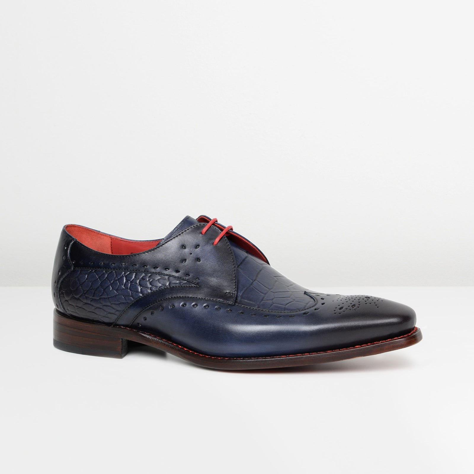 Crust Marine Hunger 'Firefly' Tie Gibson Brogues
